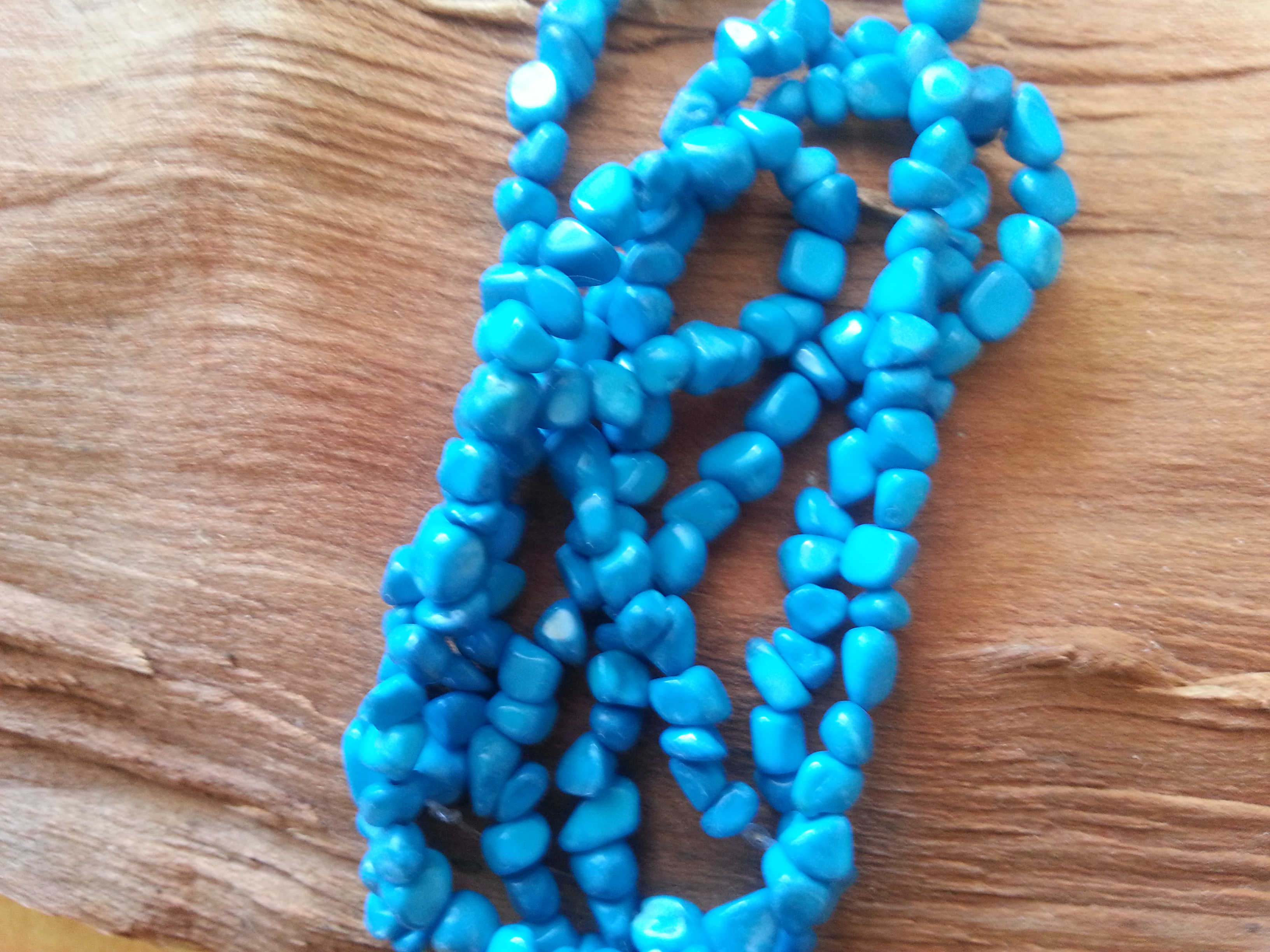 Turquoise Howlite Nugget Bead