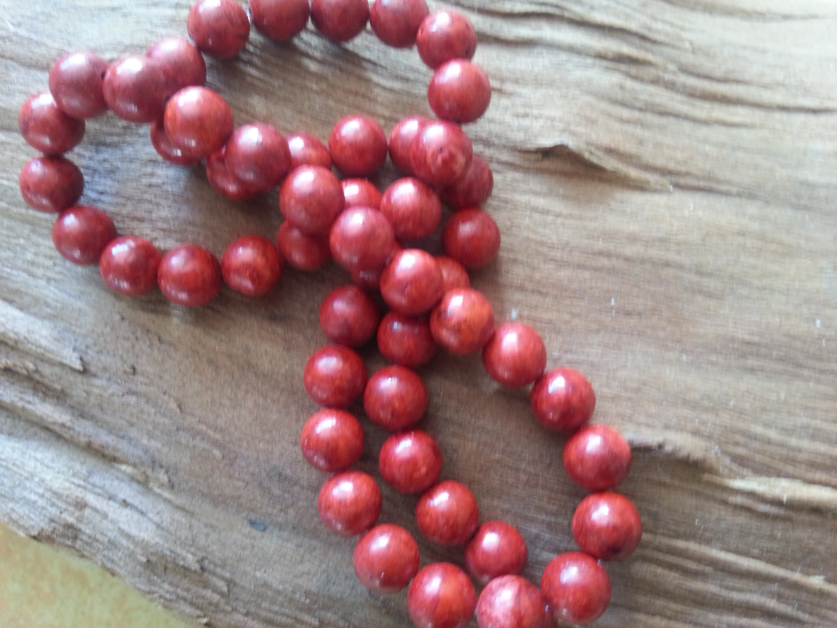 Red Coral 8mm Bead