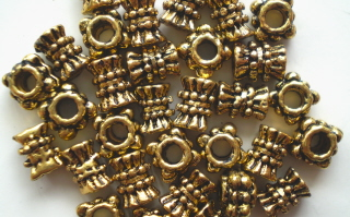 Tibetan Antique Gold Mix 2