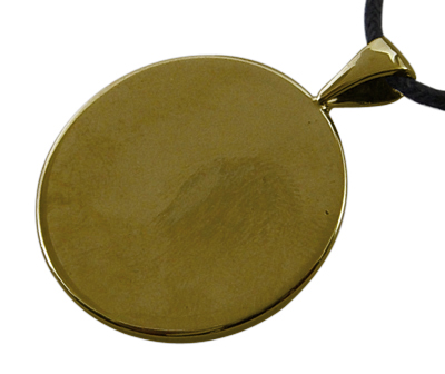 Antique Bronze Cabochon Setting 25mm