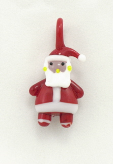 Handmade Glass Santa Claus