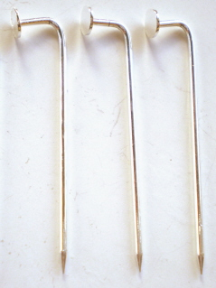Brooch Stick Pins - Silver