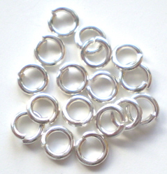 Silver Jumpring 4mm