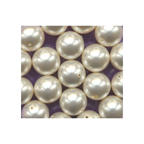 Swarovski Round Pearl 5810 Light Creamrose 4mm - Each